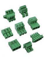 PCB signal and power terminal blocks