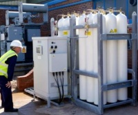 The compressed air backup at National Grid's Elland Substation is fully integrated and low maintenance
