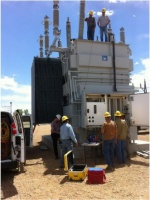 Testing at a utility in Colorado, US