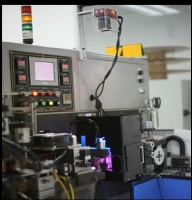 A Microscan Vision Hawk smart camera is installed directly on the machine to perform 100 per cent of the required visual inspection