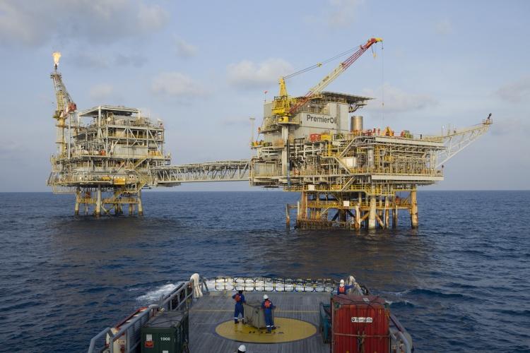 Premier Oil North Sea platform