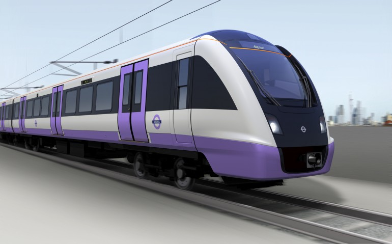 The Crossrail fleet is being built by Bombardier in Derby