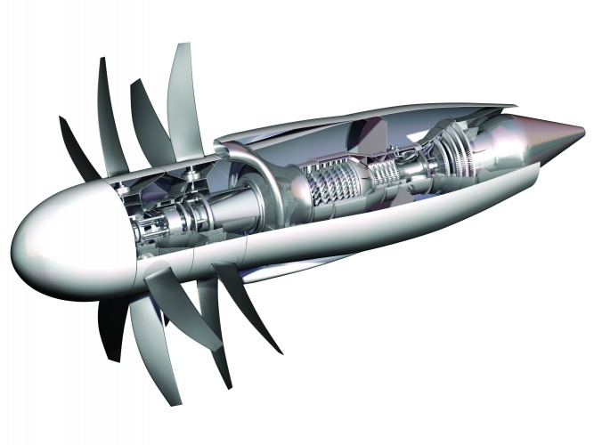 Parker is a vocal champion of the highly efficient open rotor engine concept