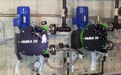 Dura 35 peristaltic pumps