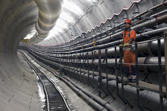 26 miles of tunnels are being built beneath London