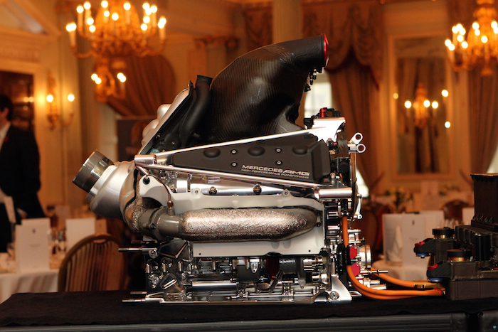 Mercedes-Benz PU106A Hybrid power unit.