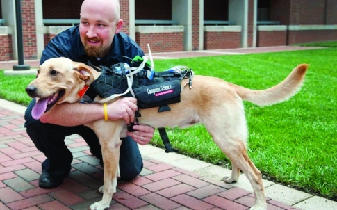 Researchers at NC State University have developed a high-tech harness that is equipped with a suite of technologies to enhance communication between dogs and humans, with applications in everything from search and rescue to service dogs to training pets