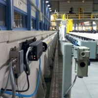 HS10 laser encoder fires its beam down the air purged duct