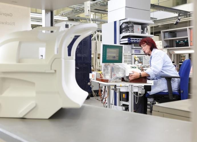 Siemens MRI factory Germany