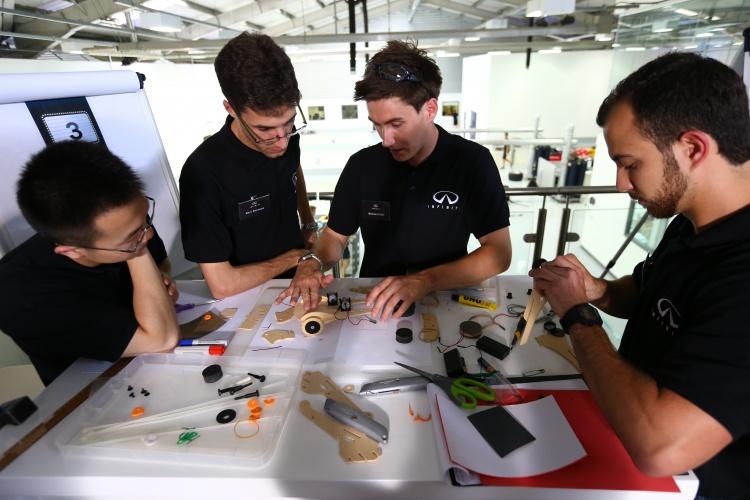 Infiniti Performance Engineering Academy day