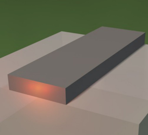 The strong confinement in the silicon photonic nanowire waveguide enhances the light matter interaction. The strong interactions allow to extend a frequency comb towards the mid-infrared