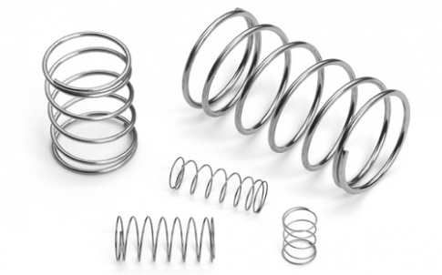 Light-pressure springs