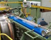 Cropico DO5000 measuring the resistance of copper cables