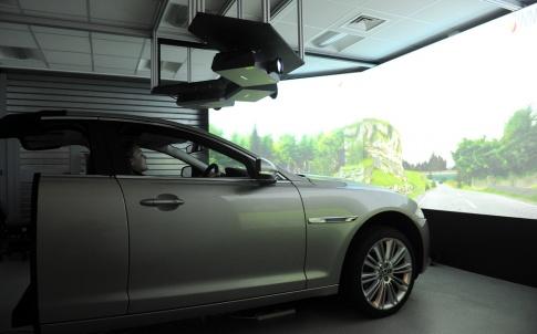 One of WMG's existing driving simulators
