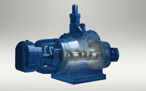 MSE twin-screw pump