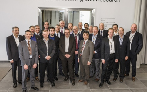 Attendees of the first-ever Gear Summit on 16–19 March 2015 in Sandviken, Sweden