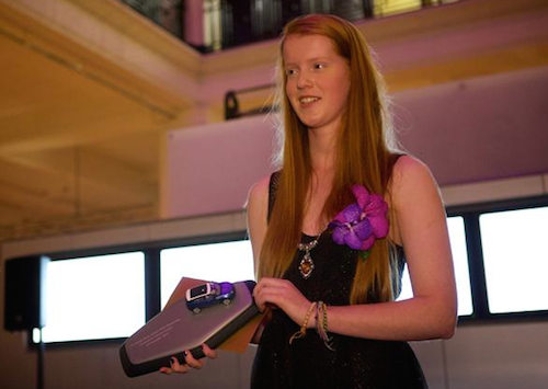 Harriet Vickers, recipient of the 2103 Range Rover Evoque WISE scholarship