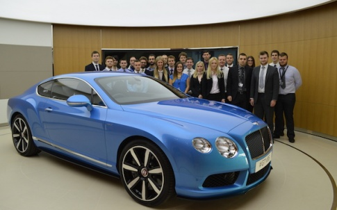 Bentley operates in 58 countries, with 193 sales sites