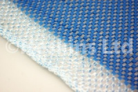 Non-slip fabric mesh — blue
