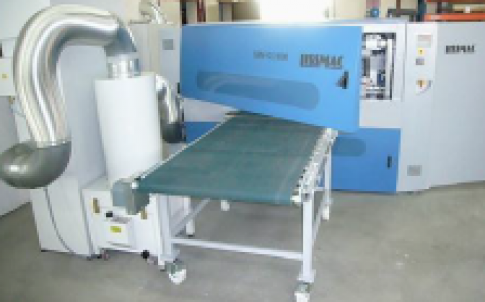 The Lissmac SBM-GS 1000 grinding and deburring machine