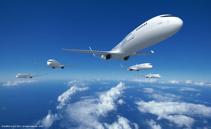 Airbus' concept future airliner