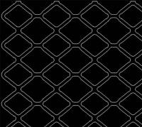 Stent pattern 'unrolled'