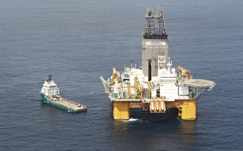 BP's Deepsea Stavanger platform off the coast of Angola
