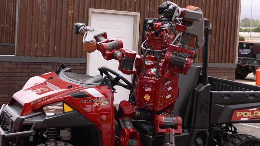 CHIMP robot