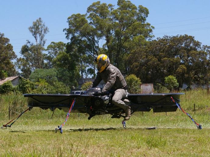 Malloy Aeronautics' Hover Bike