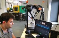 David Powell gauging parts using the Equator gauging system