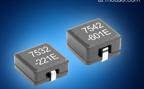 Coilcraft's MLC75xx series shielded power inductors