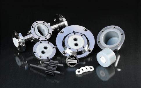 Liquiflo PFA pump components