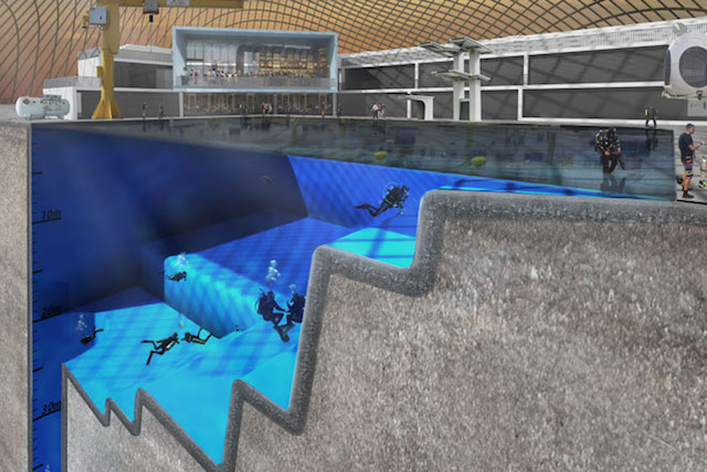 Artist's impression of how the pool could look