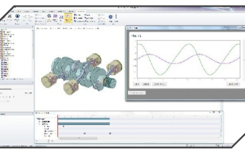 Plot the performance of your models and control the motion with the sequence editor
