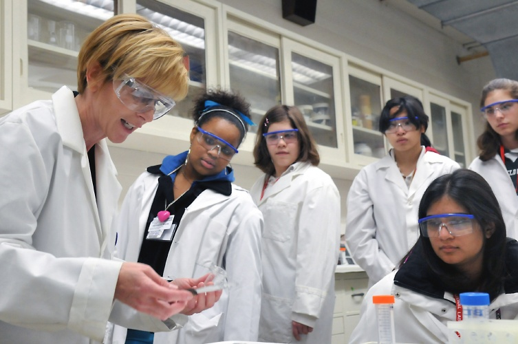 Almost half of young women do not even consider careers in STEM sectors.