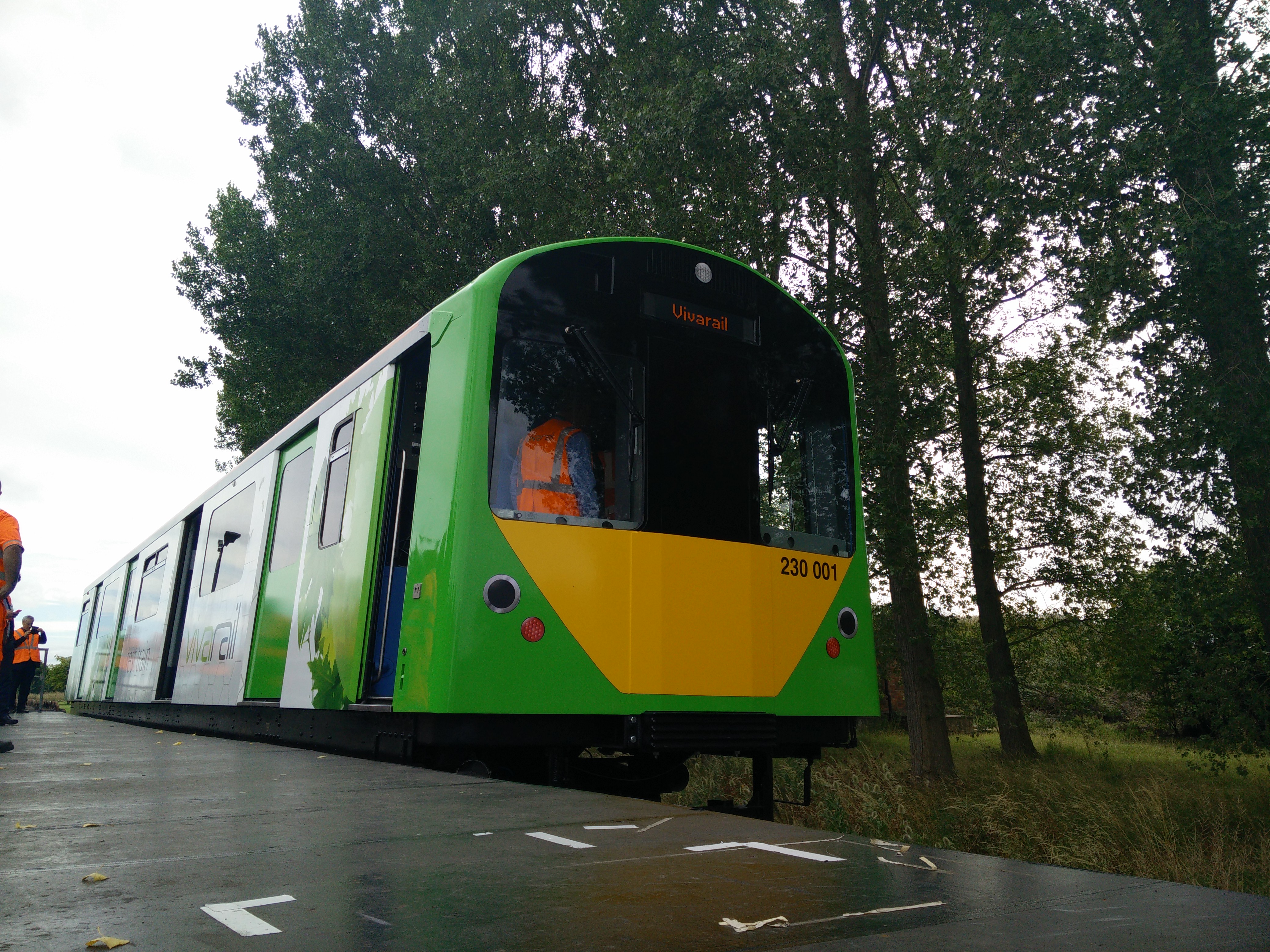 D Railed Old Tube Trains Gain A New Lease Of Life The