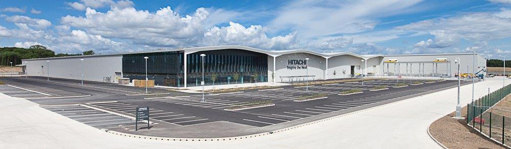 Hitachi's newly opened Newton Aycliffe Plant