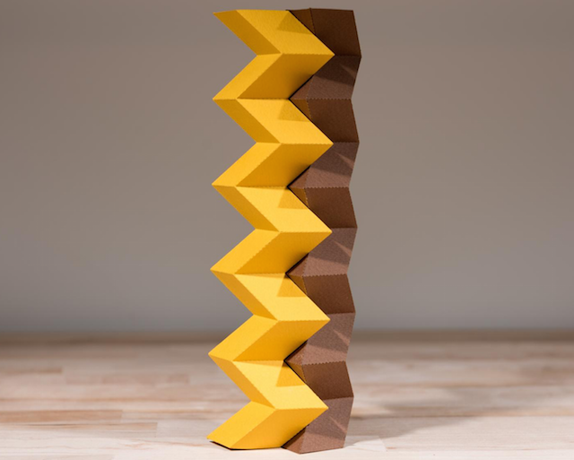 origami technique puts new twist on engineered structures