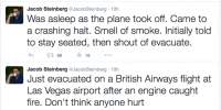 Live updates from Jacob Steinberg who was on flight BA2276