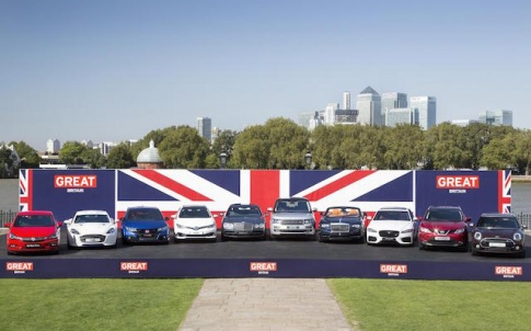 British made brands line up before heading to the 66th Frankfurt Motor show