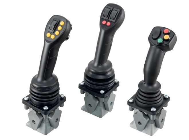 Hydraulic Joystick Control : Heavy duty electronic joystick controller has high
