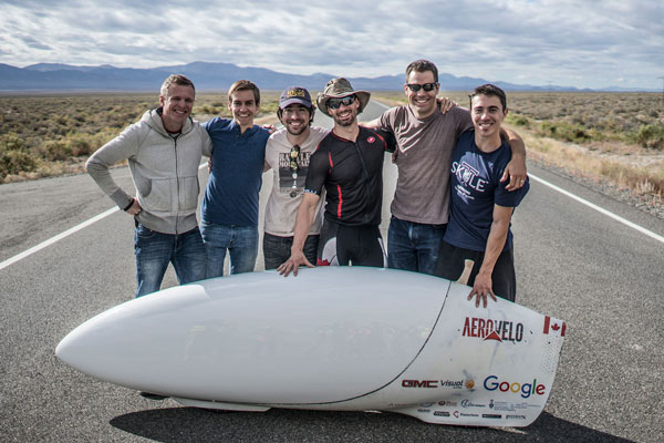 Eta was built and raced by past and present students from the university.