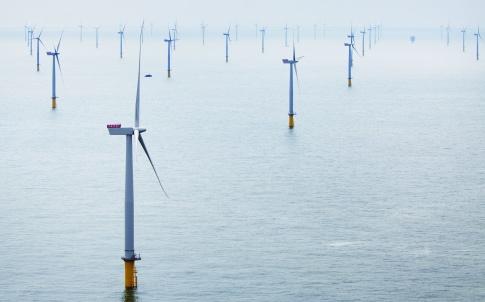 London Array - das weltgrößte Offshore-Windkraftwerk / London Array- the world's largest offshore wind farm
