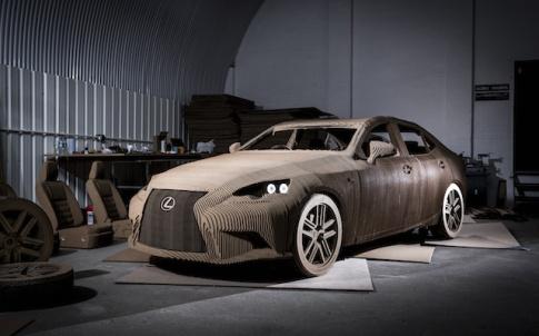 Lexus Unveils Full-size Origami Inspired Car