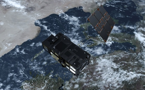 Sentinel 3A will take measurements from both land and sea.