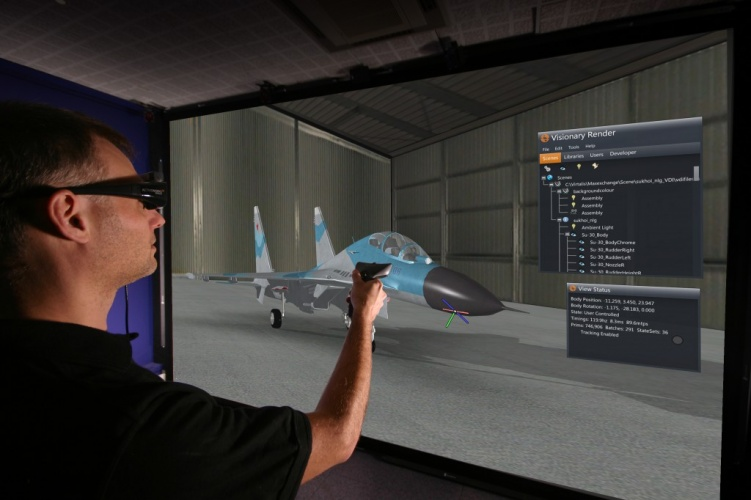 Companies including BAE Systems and Lockheed Martin are using Virtalis software for engineering and design.
