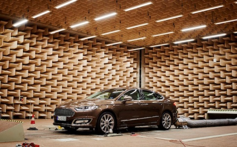 By cutting out outside noise, Ford believe they're giving customers a more relaxing driving experience