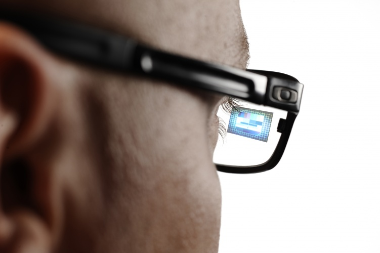 Spun out of research carried our at Finland's VTT Technical Research Centre, the display can be applied to ordinary glasses