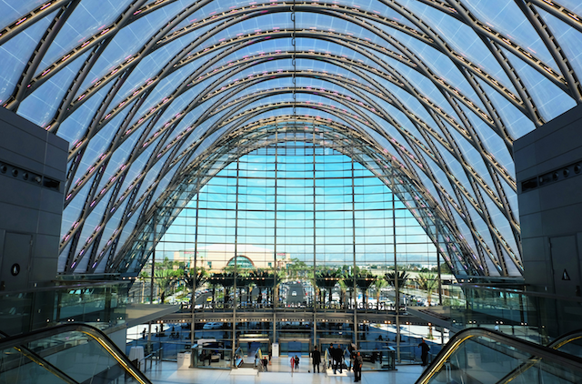 Anaheim Regional Transportation Intermodal Center (ARTIC), Anaheim USA (by Thornton Tomasetti)