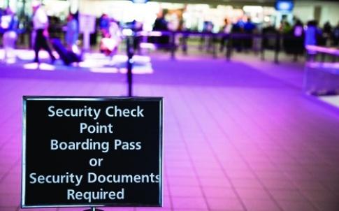 p7 airport security